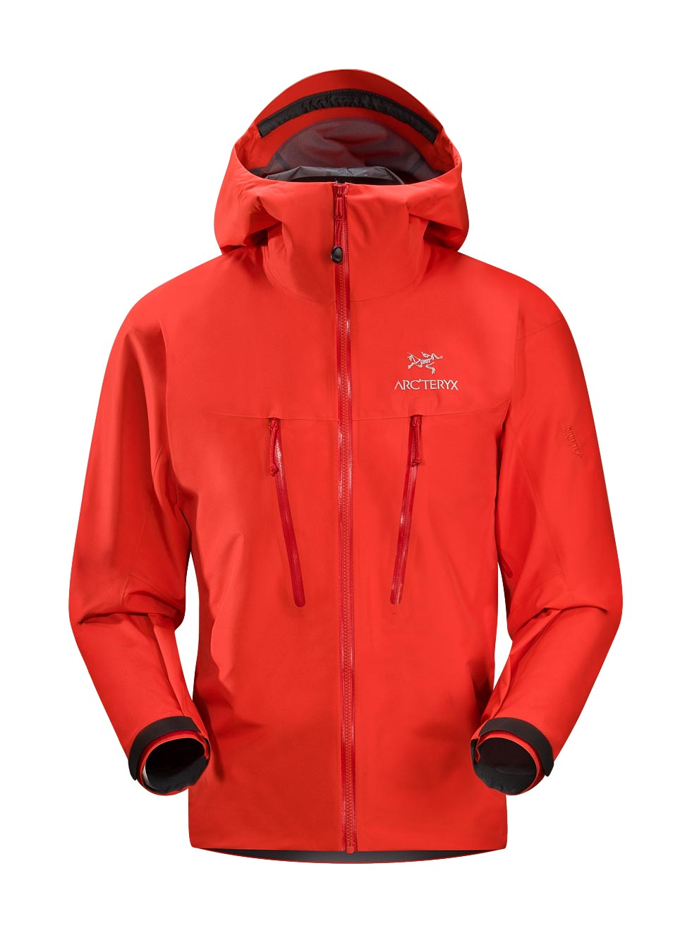 Arcteryx Road Rash Red Alpha LT Jacket