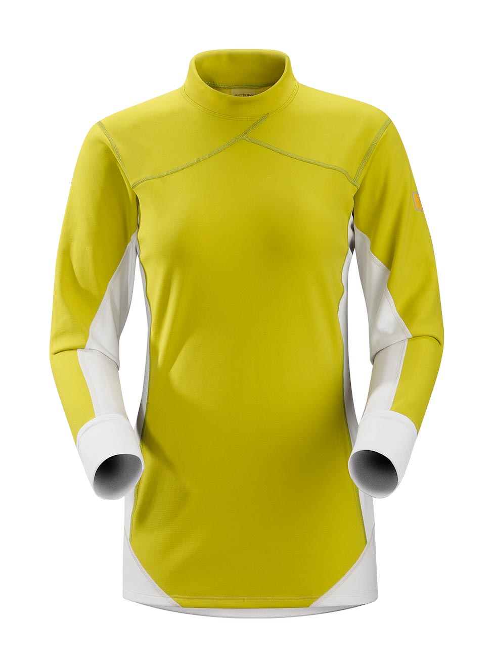 Arcteryx Chartreuse Phase SV Comp LS